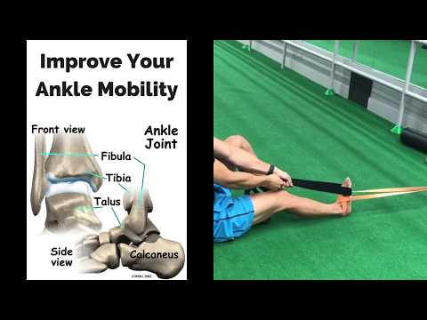 Improve Your Ankle Dorsiflexion With THIS Banded Distraction - Ankle Mobility Advice