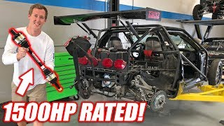 Leroy Gets Some MEATY 1500+hp Outlaw Axles! *Freedom Included*
