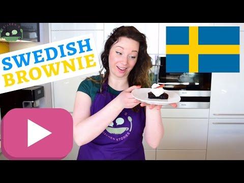 SWEDISH KLADDKAKA Recipe | Swedish Sticky Chocolate Cake