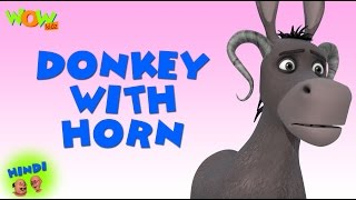 Donkey with Horn - Motu Patlu in Hindi WITH ENGLISH, SPANISH & FRENCH SUBTITLES