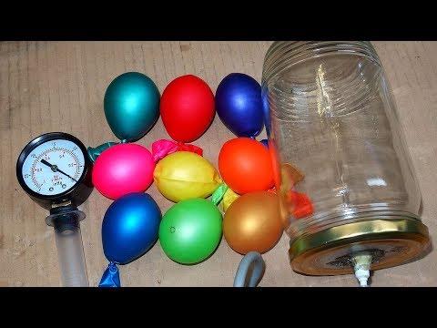 Vacuum Chamber Full of Balloons!