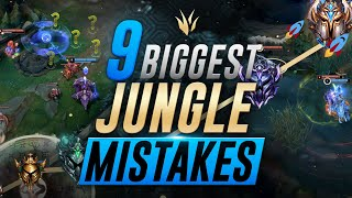 9 BIGGEST Jungle Mistakes That STOP Your Climb To The Moon! 🚀🚀🚀 | Jungle Climbing Tips