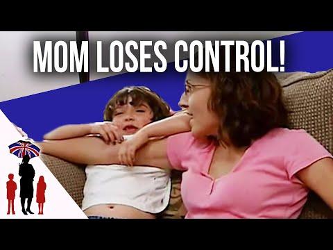 Mother Loses Control Of Kids Until Dad Returns Home | Supernanny