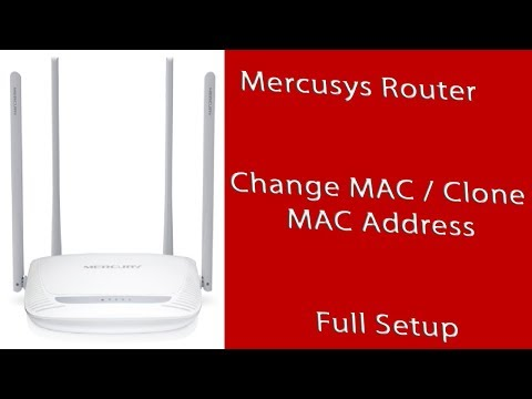 Mercusys Router MAC Clone  IP & MAC binding setup (Solved Authentication Failure)