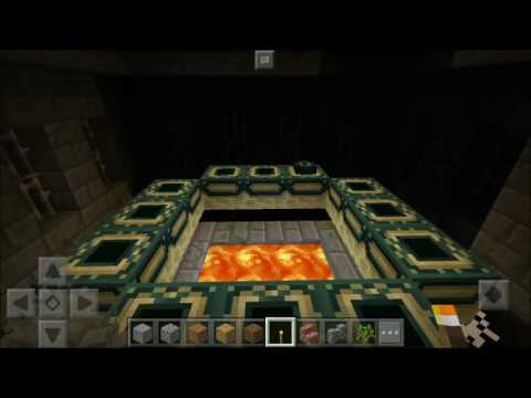 Minecraft PE 1.0 - Activate End Portal, Defeat The Ender Dragon, Endgame!!!