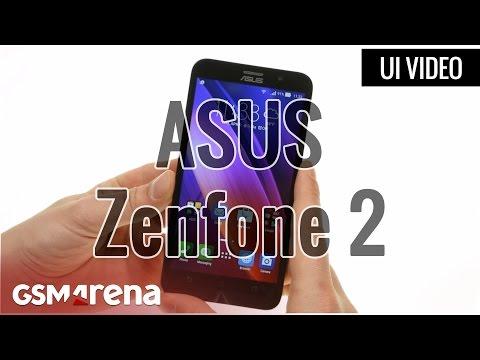 ASUS Zenfone 2 user interface
