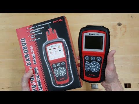 Autel DiagLink OBD2 Automotive Diagnostic Tool Review