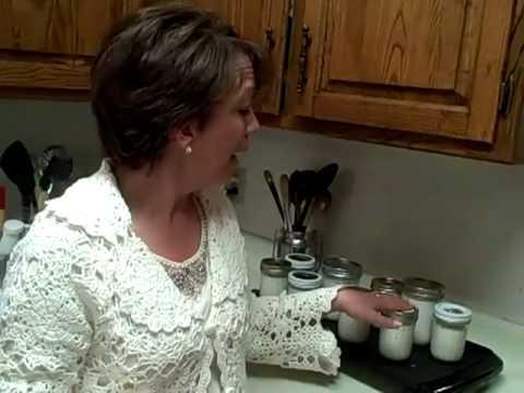 Making Yogurt from Powdered Milk