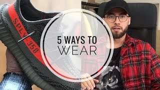 how to wear yeezy's Videos 9tube.tv