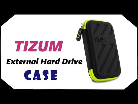 TIZUM  External Hard Drive Case