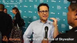Director J.J. Abrams Star Wars: The Rise of Skywalker