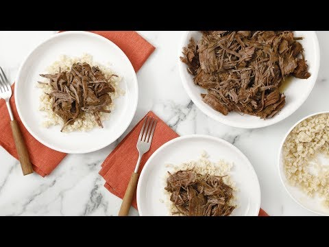 Shredded Beef Chuck Roast- Martha Stewart