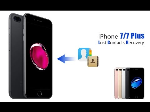 Recover Deleted Lost Contacts from iPhone 7/7 Plus