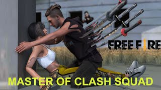 Master of clash squad : free fire animation