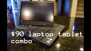 eBay Finds: $90 Lenovo Thinkpad X220t Unboxing and First Look