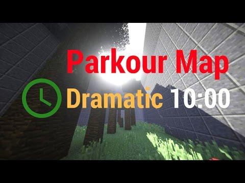 DRAMATIC 10 Minute Parkour//Minecraft
