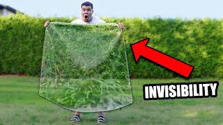 I Made a Real Invisibility Cloak *actually works*