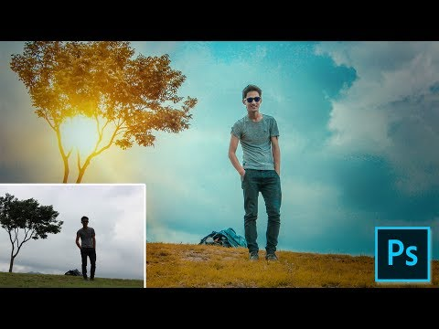 Photoshop Tutorial | Outdoor Color Correction In Photoshop