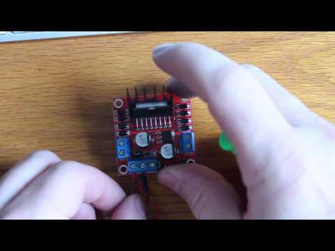 HOW TO: control DC Motors with Arduino + L298N