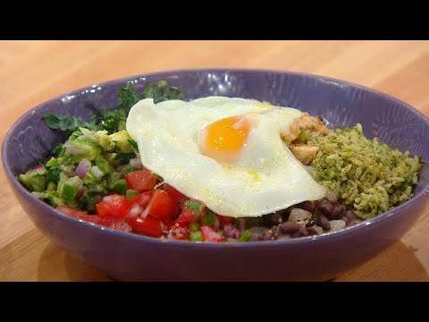 Tex-Mex Bowl with Chipotle Dressing | Rachael Ray Show