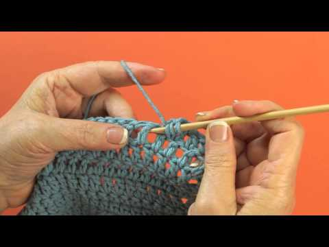 Front Post Treble Crochet Technique
