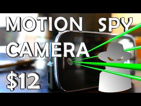 How To Make a Motion Spy Camera - $12 Super Easy!
