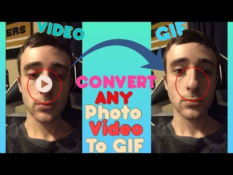 How To Convert ANY Video or Photo Into GIFs (No Additional Software)