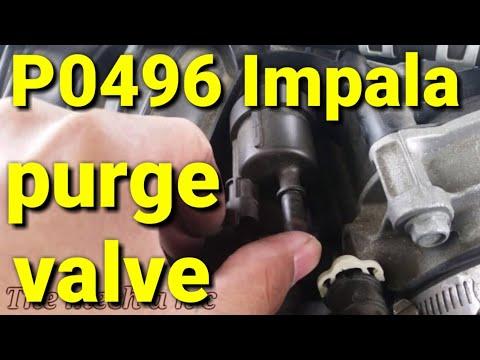 P0496 2013 impala purge valve