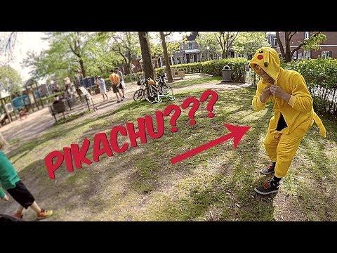 POKÉMON: LET'S GO! PIKACHU DAD CRASHES POKÉMON PARTY :)