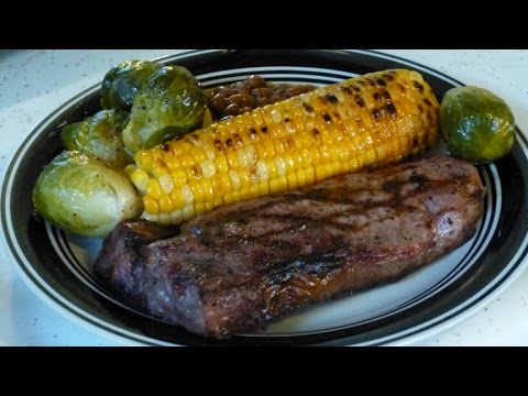 New York Strip Steak, Grilled Corn On The Cob, DW's Weekly Grilling!