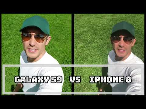 Galaxy S9 vs iPhone 8: Which Camera is Better? Photo/Video Comparison on Selfie Side