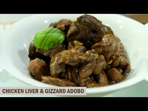cyberKusina: Chicken Liver & Gizzard Adobo