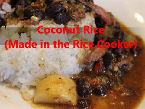 Coconut Rice Made in the Rice Cooker [Episode 200]