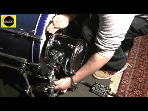 Subkick Tutorial (D.I.Y. mit einem Visaton WS-17 Tieftöner , Yamaha SKRM-100, DW Moon Mic)