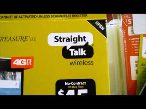 Wal Mart Straight Talk Phone Hustle! $$ CAUTION! Stupid Activation Problem