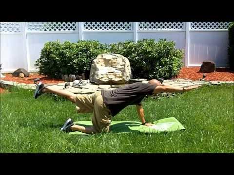 Fibromyalgia Exercise : A Simple stretch for fibromyalgia back pain