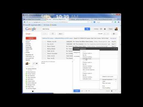 Part 3 (of 3) How To Email Screenplay Query Letters Very Quickly