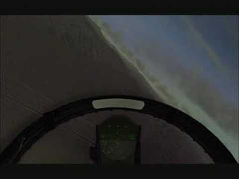 F/A 18 Flight Over Nellis Airbase (FSX)