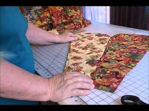 HOW TO MAKE THE DRESDEN PLATE QUILT-PART 1