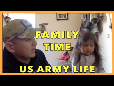 ARMY LIFE ON BASE: MILITARY FAMILY SURPRISE