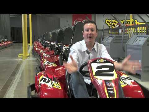Kurt Busch Indoor Karting Driving Tips