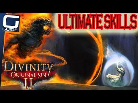 DIVINITY 2 ORIGINAL SIN - ALL ULTIMATE SPELLS & SKILLS (Showcase & Testing)