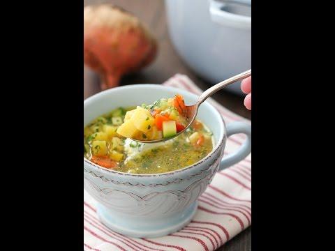 Golden Beet Soup recipe