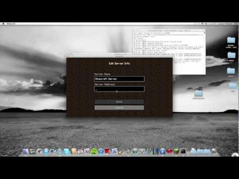 How to do a Minecraft bukkit server 1.4.2 for mac [HD] + adding plugins