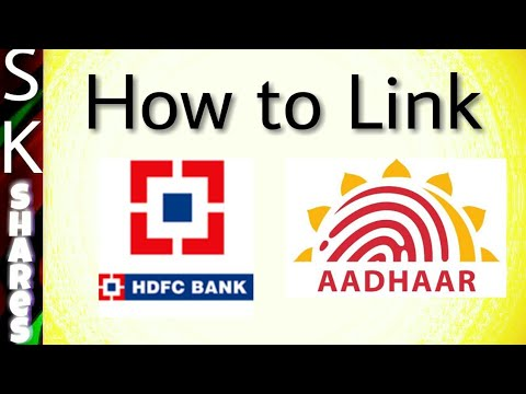 How to link HDFC bank account with aadhar through net banking