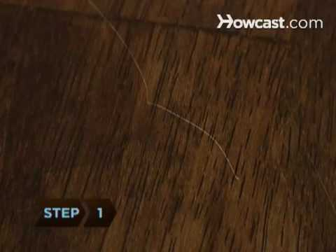How to Remove Furniture Scratches with a Walnut