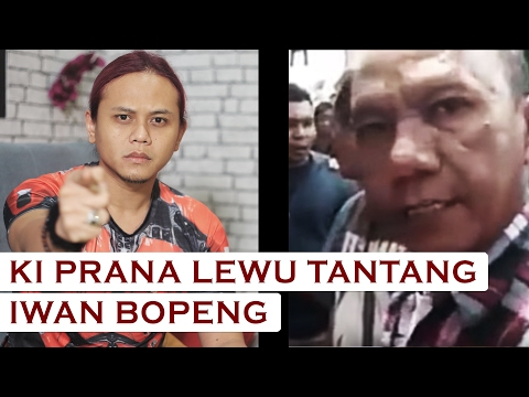 Tantang Iwan Bopeng