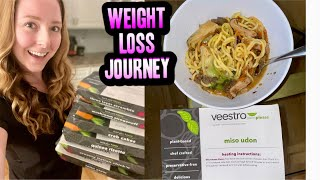 GOING VEGAN \u0026 LOSING WEIGHT!   MY FIRST WEEK OF THE VEESTRO WEIGHT LOSS MEAL DELIVERY PROGRAM
