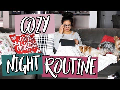 Holiday Night Time Routine | CHRISTMAS EDITION | Belinda Selene