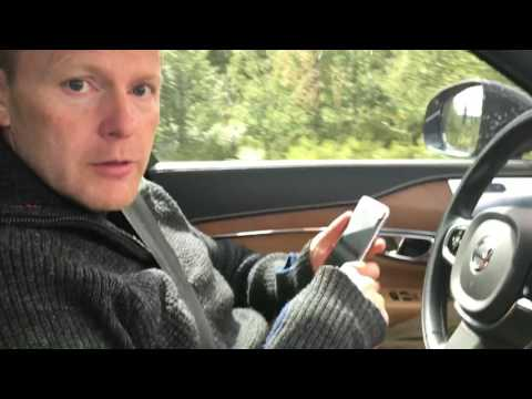 Dad Texts While in Car